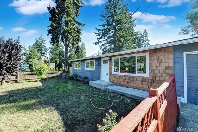 Lynnwood Single Family Home For Sale: 6220 188th St SW
