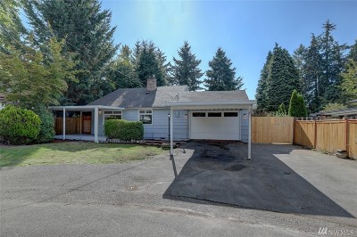 SeaTac Single Family Home For Sale: 3511 S 202 St