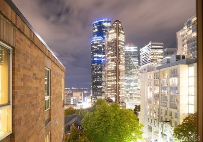 Seattle Condo/Townhouse For Sale: 905 Cherry St #706