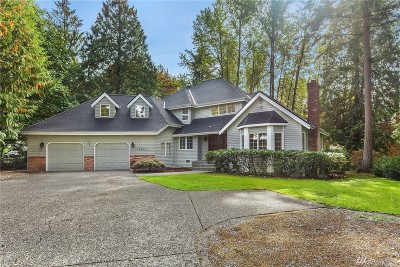 Woodinville Single Family Home For Sale: 18941 NE 186th Place