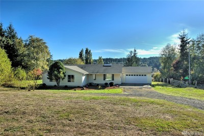 Shelton Single Family Home For Sale: 780 SE Arcadia Rd