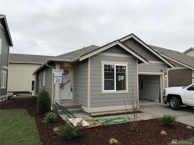 Bellingham Single Family Home Contingent: 4321 Indigo Lane #26