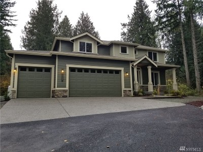 Stanwood Single Family Home For Sale: 17501 32nd Dr NW