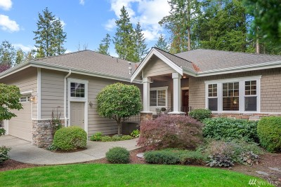 Gig Harbor Single Family Home For Sale: 4022 Firdrona Dr NW #4022