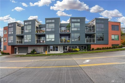 Condo/Townhouse For Sale: 6006 Seaview Ave NW #H