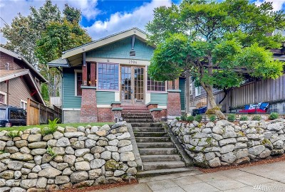 Seattle Single Family Home For Sale: 2906 3rd Ave N