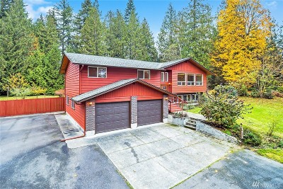 Snohomish Single Family Home For Sale: 12809 Dubuque Rd