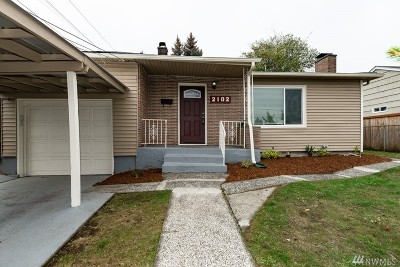 Tacoma Single Family Home For Sale: 2102 N Ferdinand St