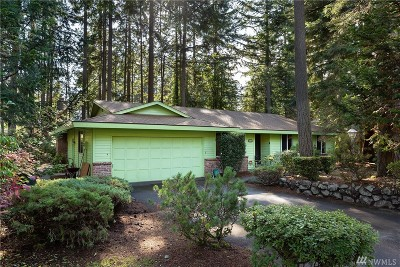Gig Harbor Single Family Home For Sale: 3716 60th St Ct NW