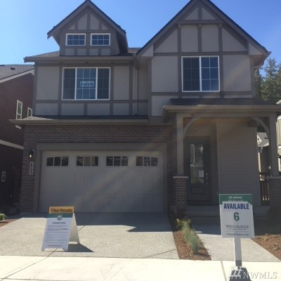 Issaquah Single Family Home For Sale: 476 6th (Lot 65) Lane NE
