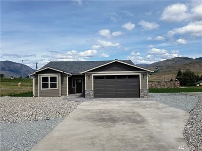 Chelan County Single Family Home For Sale: 126 Cloudless Dr