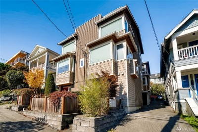 Seattle Single Family Home For Sale: 312 W Olympic Place