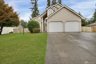 Puyallup Single Family Home For Sale: 8613 120th St Ct E