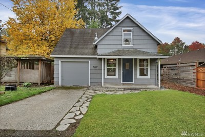 Olympia Single Family Home For Sale: 1307 5th Ave SE