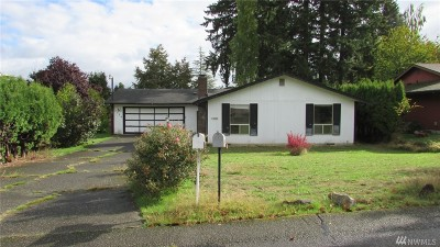 Steilacoom Single Family Home For Sale: 2724 Cambridge Dr