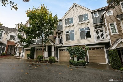 Issaquah Condo/Townhouse For Sale: 1479 Huckleberry Cir