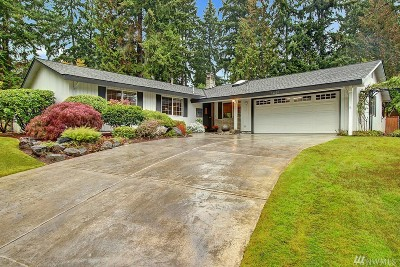 Bellevue Single Family Home For Sale: 16220 SE 31st St
