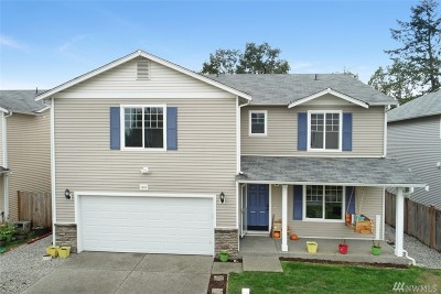 Spanaway Single Family Home For Sale: 1801 178th St Ct E