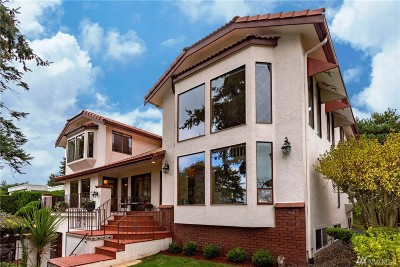Seattle Single Family Home For Sale: 3008 Magnolia Blvd W