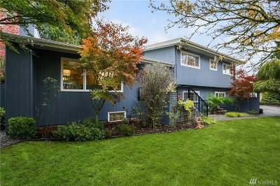 Kenmore Single Family Home For Sale: 18704 58th Ave NE