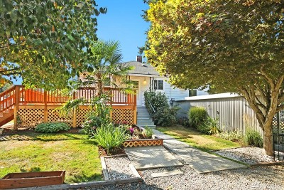 Seattle Single Family Home For Sale: 857 S 112th St