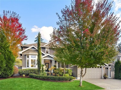 Sammamish Single Family Home For Sale: 25307 NE 3rd Place