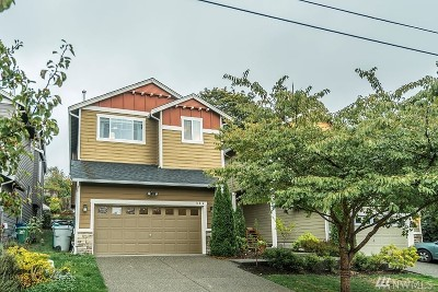 Renton Single Family Home For Sale: 16810 104th Ave SE