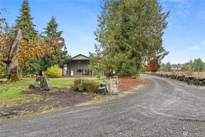 Tenino Single Family Home For Sale: 17606 Old Highway 99