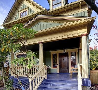 Seattle Single Family Home For Sale: 1412 E Aloha St