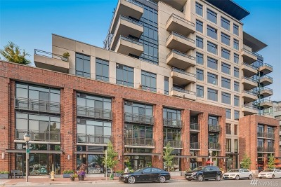 Bellevue Condo/Townhouse For Sale: 10000 Main St #202