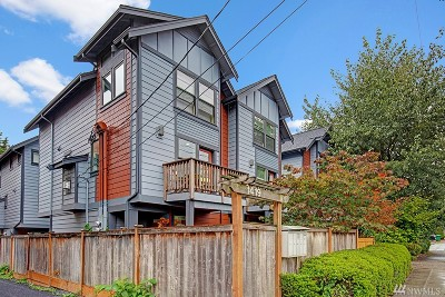 Seattle Single Family Home For Sale: 1423 NW 65th St #D