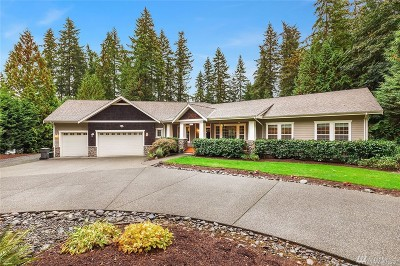 Woodinville Single Family Home For Sale: 17650 167th Ave NE