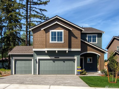 Puyallup Single Family Home For Sale: 10564 191st St E #112