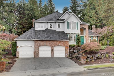 Bellevue Single Family Home For Sale: 17543 SE 55th St
