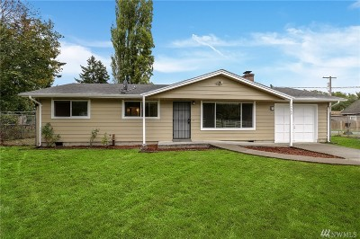 Federal Way Single Family Home For Sale: 34660 Military Rd S