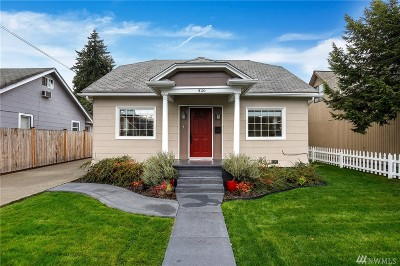 Puyallup Single Family Home For Sale: 426 5th St NE