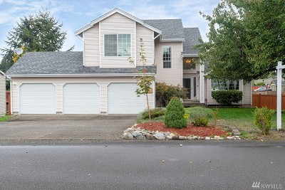 Spanaway Single Family Home For Sale: 4309 214th St Ct E
