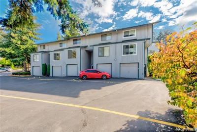 Tukwila Condo/Townhouse For Sale: 4004 S 158th St #C
