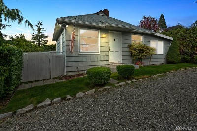 Tacoma Single Family Home For Sale: 4711 Slayden Rd NE