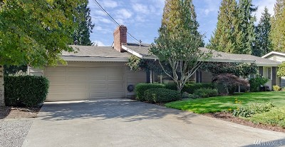 Bellevue Single Family Home For Sale: 5625 126th Ave SE