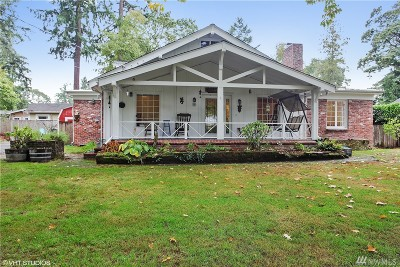 Tacoma Single Family Home For Sale: 6924 Pleasant St SW