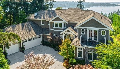 Bellevue WA Single Family Home For Sale: $4,288,000