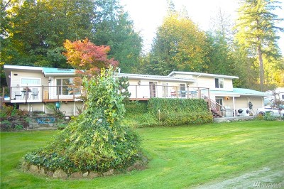 Mount Vernon Single Family Home For Sale: 22859 Lake Terrace Lane