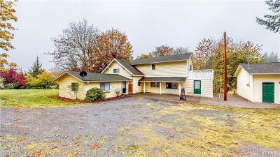 Napavine Single Family Home For Sale: 1000 Rush Rd