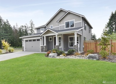 Gig Harbor Single Family Home For Sale: 3712 Fox Ct