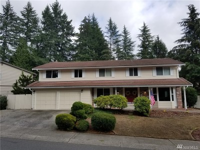 Renton Single Family Home For Sale: 15441 SE Fairwood Blvd