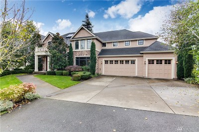 Bellevue WA Single Family Home For Sale: $4,380,000