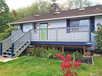 Hansville Single Family Home Pending: 38951 NE Sherlind Dr NE