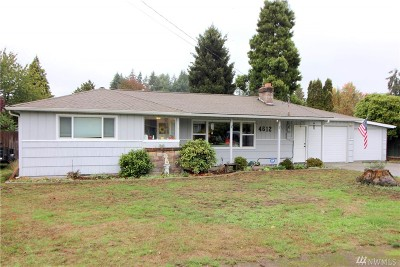 Lacey Single Family Home For Sale: 4612 18th Ave SE