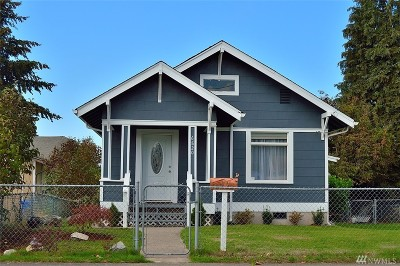 Tacoma Single Family Home For Sale: 6820 S G St